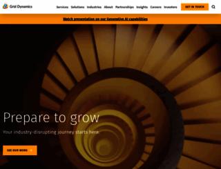 griddynamics.com screenshot