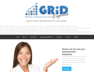 gridexpress.co.za screenshot