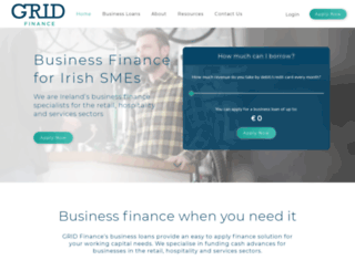 gridfinance.ie screenshot