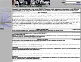 gridironfootballpool.com screenshot