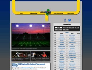 gridironnewjersey.com screenshot