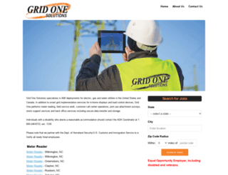 gridone.ourcareerpages.com screenshot