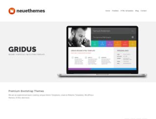 gridus-html.neuethemes.net screenshot