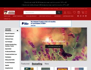 griefdigestmagazine.com screenshot