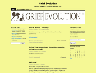 griefevolution.wordpress.com screenshot