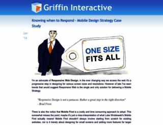 griffininteractive.net screenshot