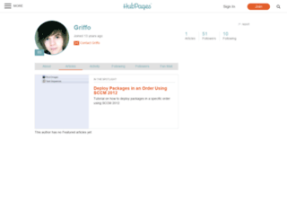 griffo.hubpages.com screenshot