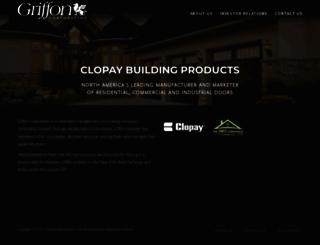 griffoncorp.com screenshot