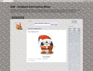 grigliatainformaticamista.blogspot.com screenshot