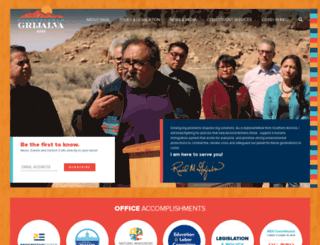 grijalva.house.gov screenshot