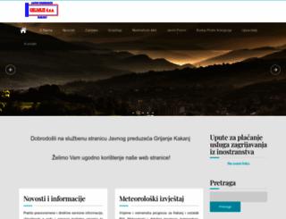 grijanje.co.ba screenshot