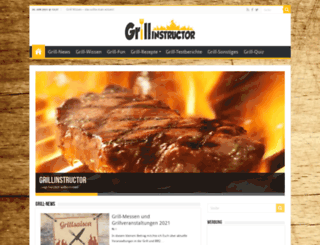 grillinstructor.net screenshot
