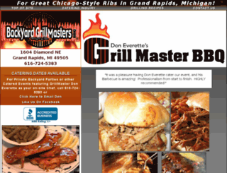 grillmasterbbq.com screenshot