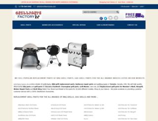 grillpartsfactory.com screenshot