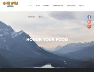 grillwild.com screenshot