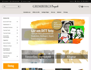 grimbergstryck.se screenshot