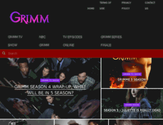 grimmseriessite.com screenshot