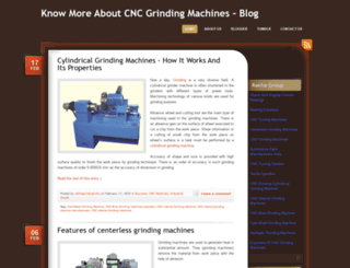 grindingmachineindia.wordpress.com screenshot