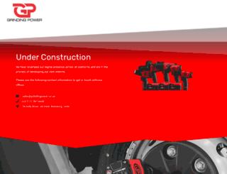 grindingpower.co.za screenshot