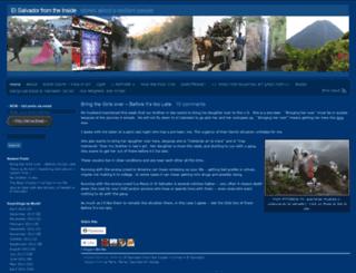 gringainelsalvador.wordpress.com screenshot