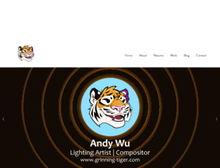 grinning-tiger.com screenshot