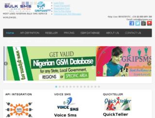 gripsms.org screenshot