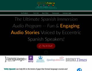 grittyspanish.com screenshot