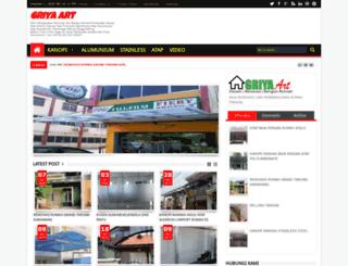 griyaart.com screenshot