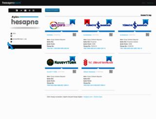 grkm.hesapno.com screenshot