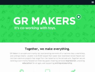 grmakers.com screenshot