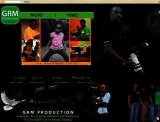 grmproductiontz.blogspot.com screenshot