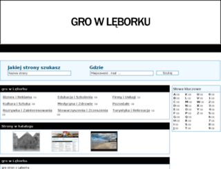 gro.wleborku.com.pl screenshot