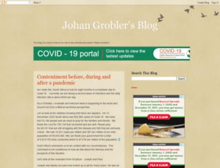 grobler.co.za screenshot