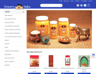 grocerybabu.com screenshot