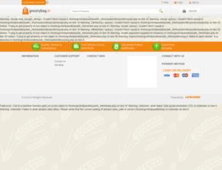 grocerybag.in screenshot