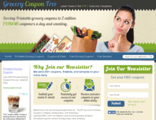 grocerycouponfree.net screenshot