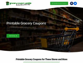 grocerycouponupdate.com screenshot