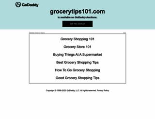 grocerytips101.com screenshot