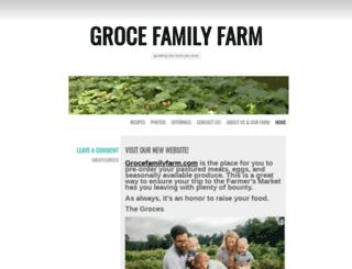 grocesgrow.wordpress.com screenshot