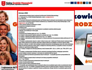 grodzisk.pl screenshot