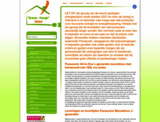 groene-energiewinkel.nl screenshot
