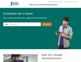 groenelijn.net screenshot