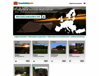 groenevakantiegids.nl screenshot