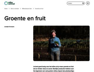 groentefruit.milieucentraal.nl screenshot