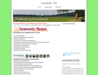 groesbeek.net screenshot