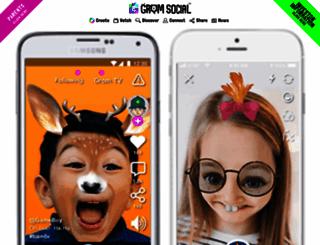 gromsocial.com screenshot