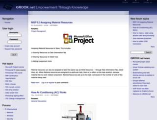 grook.net screenshot