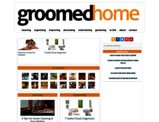 groomedhome.com screenshot