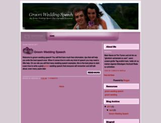 groomweddingspeech-tip.blogspot.com screenshot