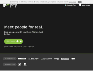 groopify.me screenshot
